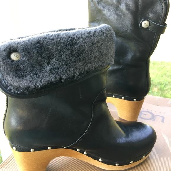 2e95dc0aaa9 UGG Australia W Lynnea II 1001793 7 Black Boots
